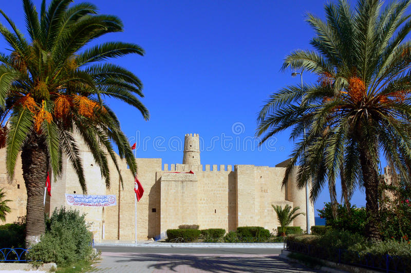 Ribat of Monastir, Tunisia. Africa. The Ribat was one of the filming locations for Jesus of Nazareth stock photos