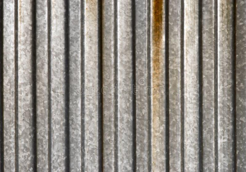 Ribbed metal texture royalty free stock photos