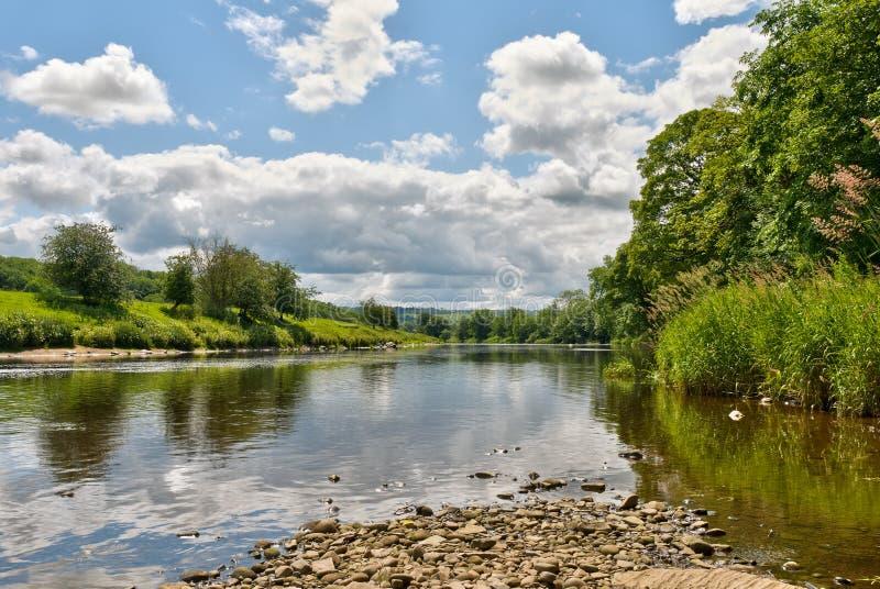 ribble ποταμός φυσικός στοκ εικόνα με δικαίωμα ελεύθερης χρήσης