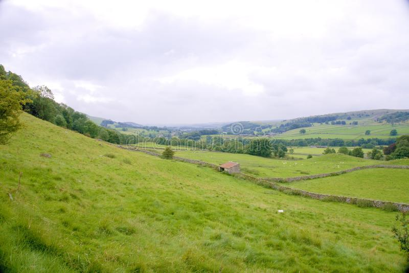 Ribble Valley Yorkshire royalty free stock photography