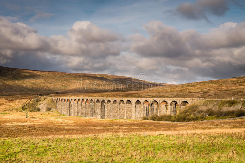 Ribbleheadviaduct stock fotografie
