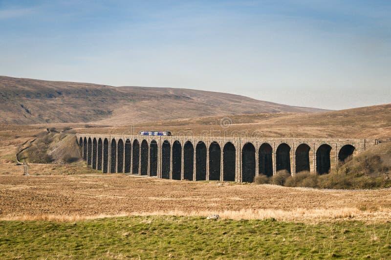 Ribbleheadviaduct royalty-vrije stock afbeelding