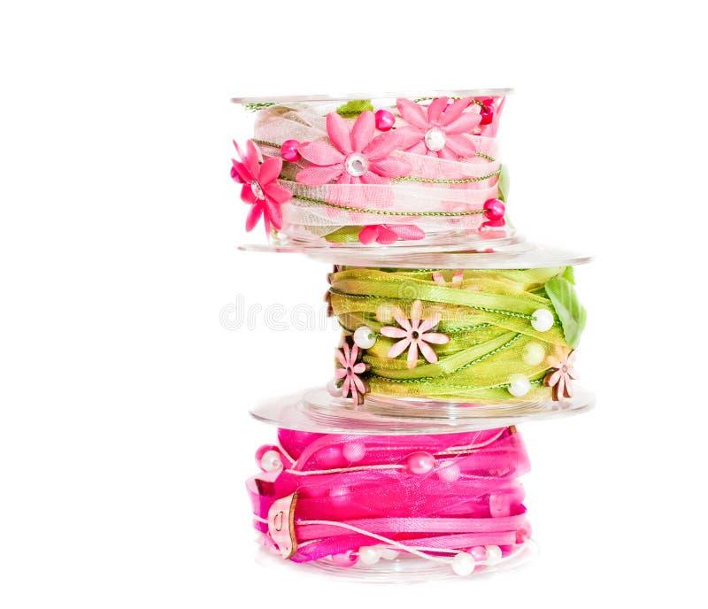 Ribbon stock image