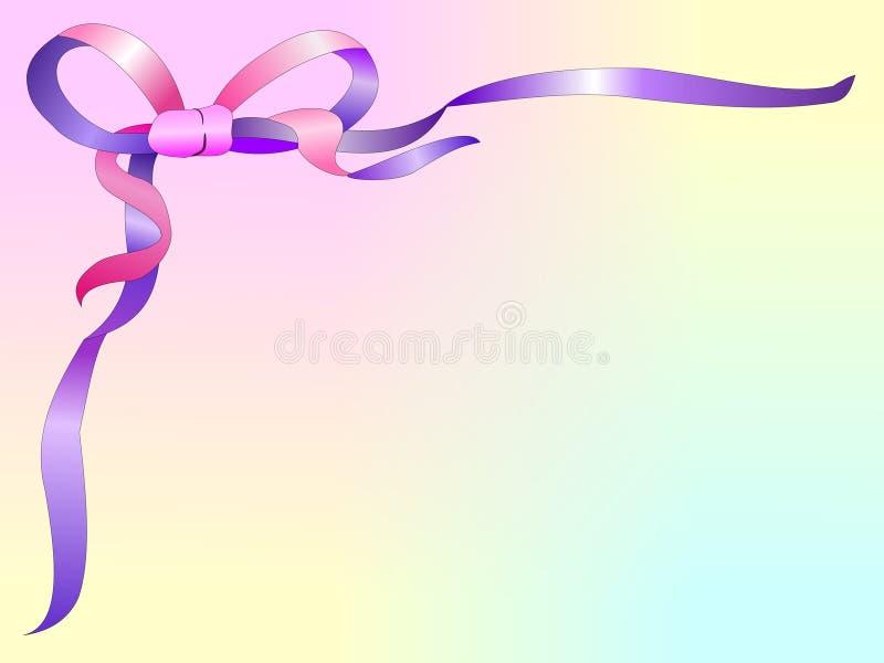 Ribbon Background2 stock illustration