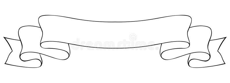 15+ Best New Outline Banner Ribbon Clipart