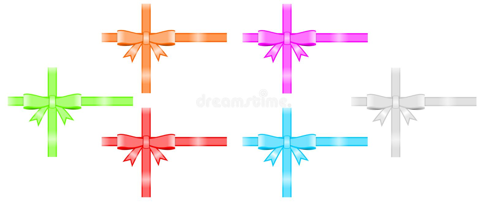 Download Ribbon and bow stock photo. Illustration of decoration - 19589436