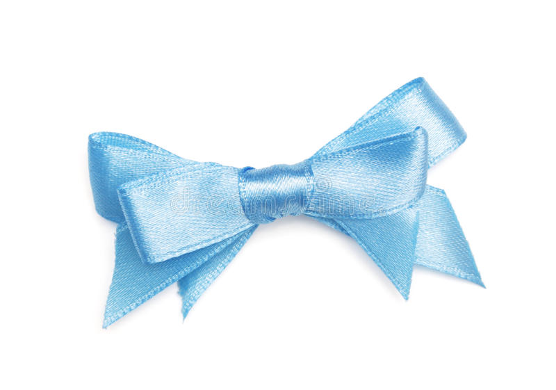 Download Ribbon bow stock image. Image of blue, elegance, package - 22581099