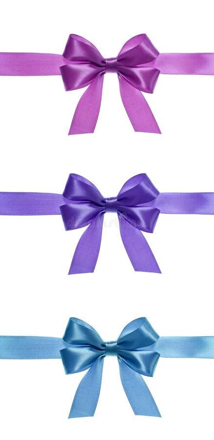 Ribbon Bows Royalty Free Stock Photography