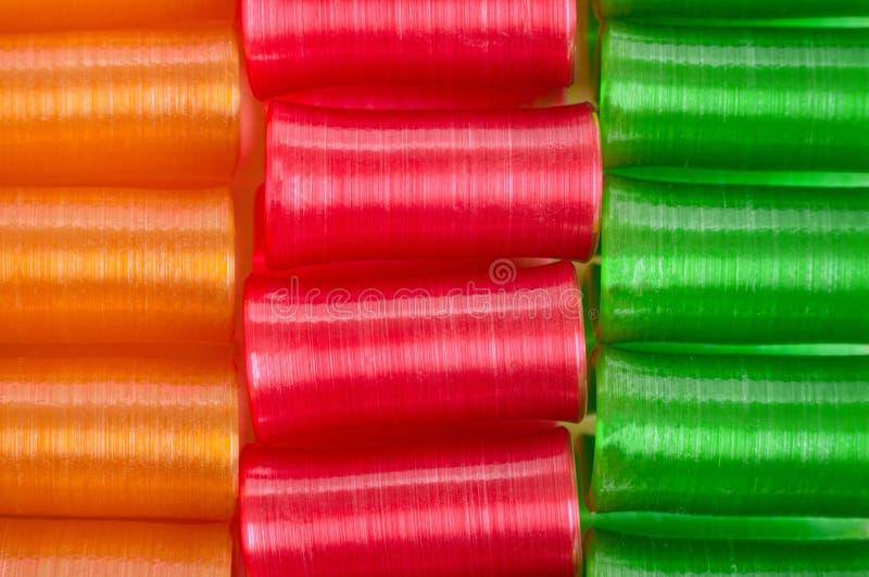 Ribbon Candy royalty free stock image