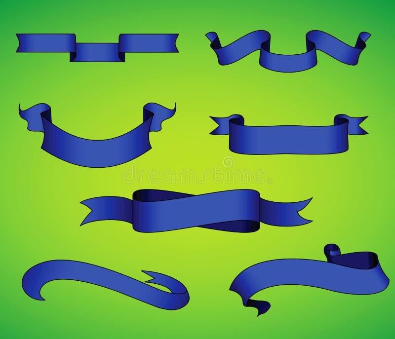 Ribbon Collection stock illustration