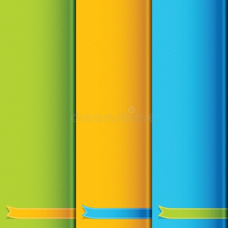 Download Ribbon design stock vector. Image of gift, element, orange - 25986704