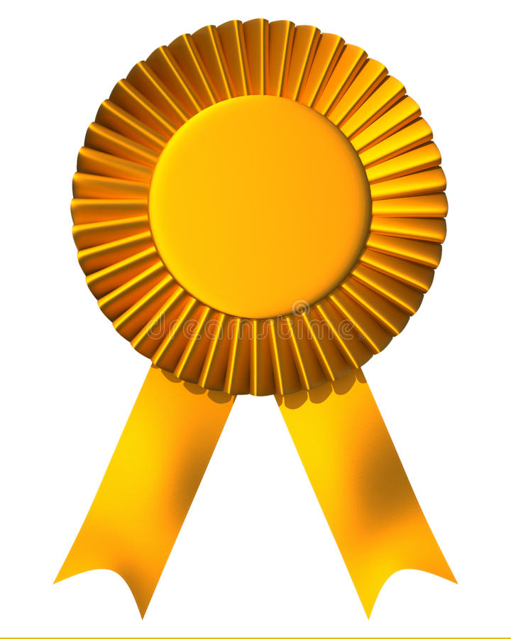 Free Ribbon First Place Award Royalty Free Stock Photography - 11657347