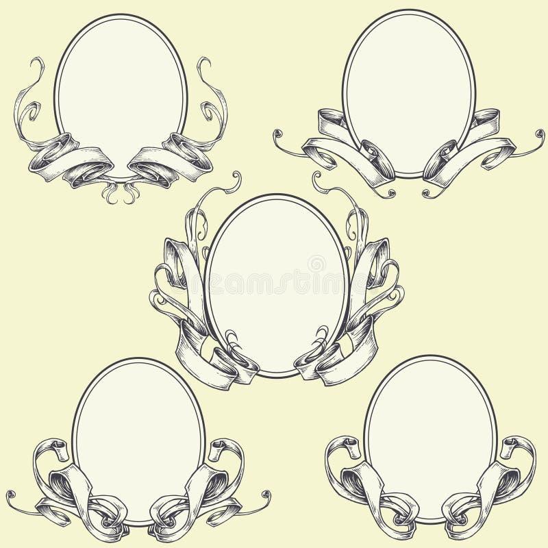 Download Ribbon Frame And Border Ornaments Stock Vector - Image: 40631638