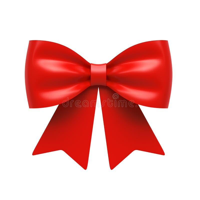 Ribbon gift bow royalty free illustration