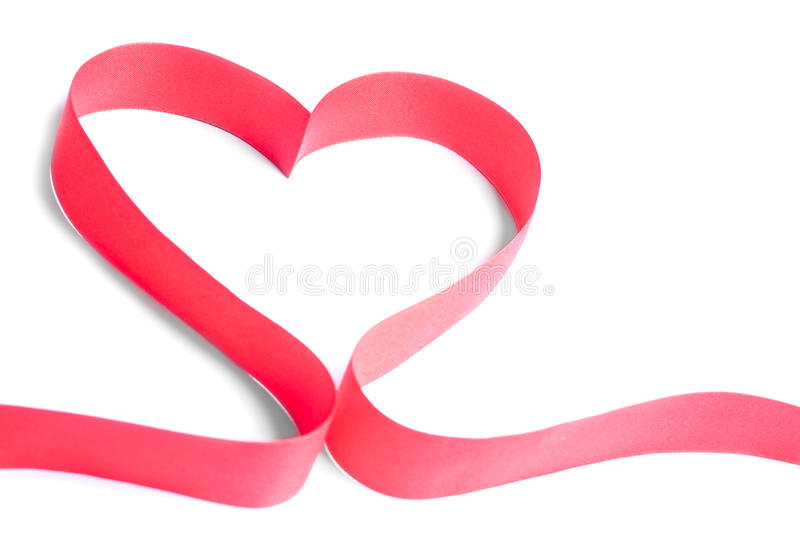 Ribbon heart stock images