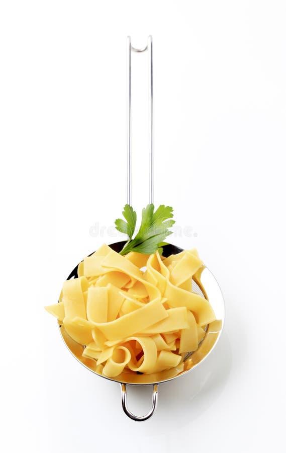 Download Ribbon pasta stock photo. Image of studio, stainless - 24682418