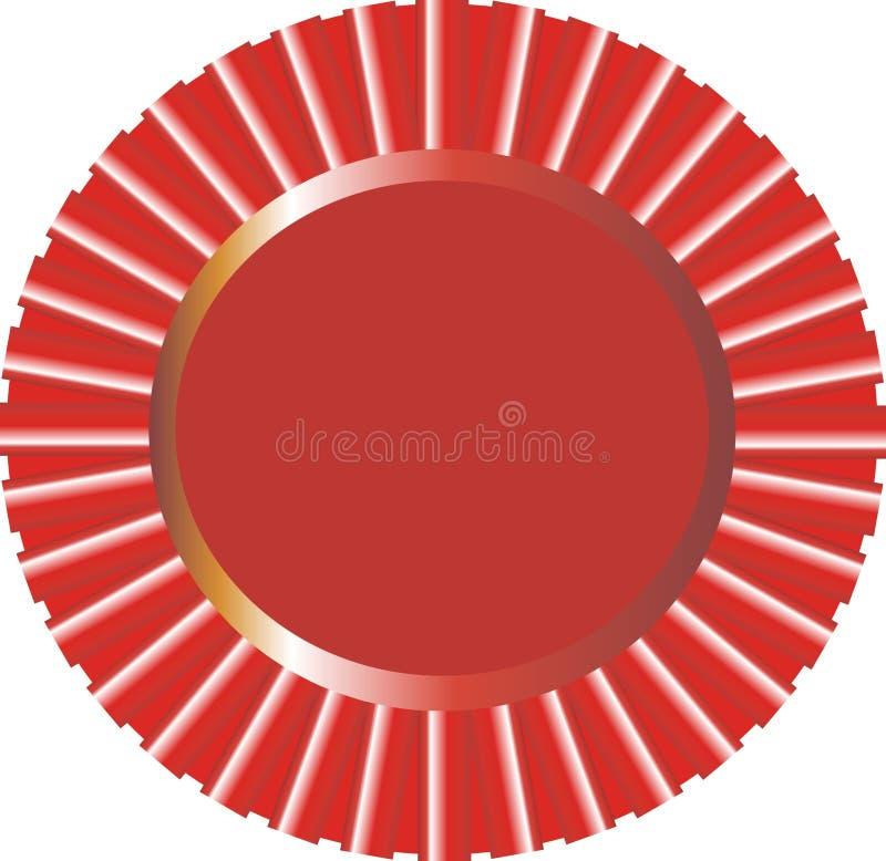 Free Ribbon Red Cdr Vector Stock Photos - 8396393