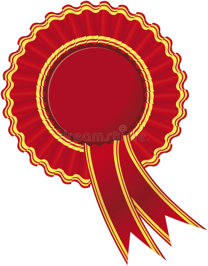 Ribbon Rosette Royalty Free Stock Photography