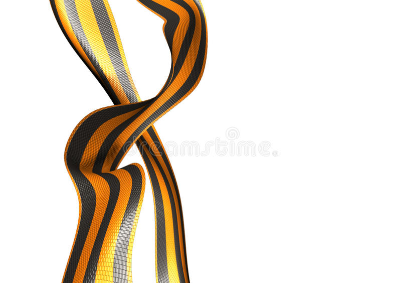 Ribbon of Saint George (russian WWII) stock images