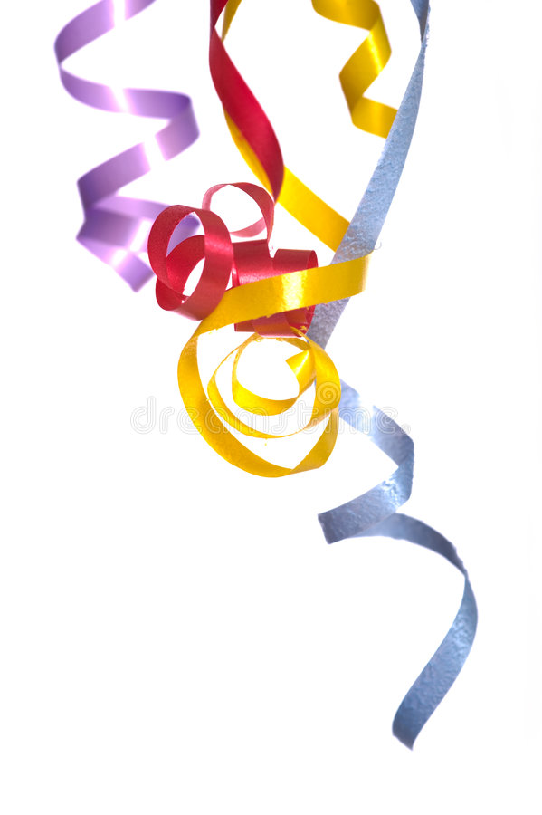 Free Ribbon Streamers Stock Images - 5114114