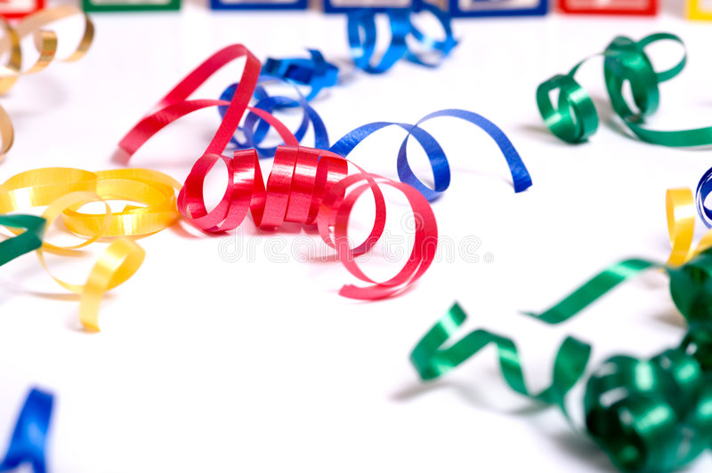 Download Ribbon Streamers stock image. Image of celebration, years - 5146111