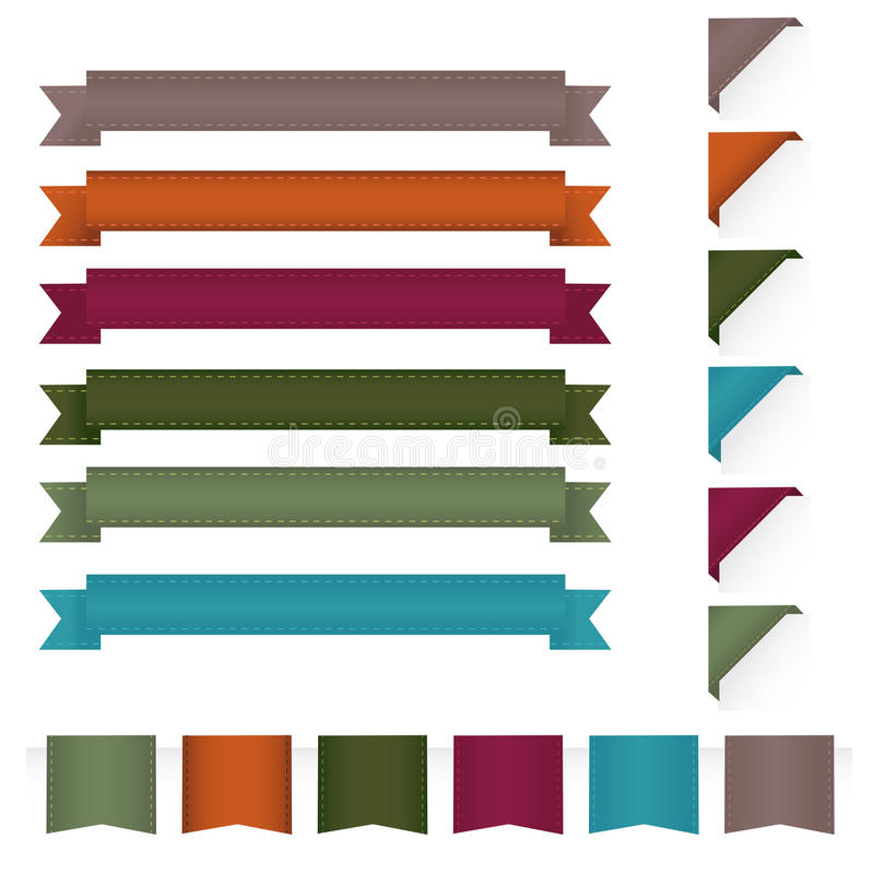 Download Ribbons stock vector. Illustration of award, icon, collection - 18227461