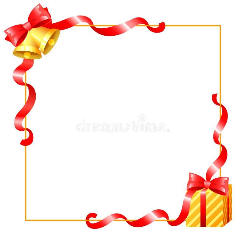 Ribbons border vector illustration