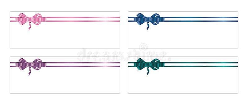 Ribbons And Bows 3-1 Royalty Free Stock Photos
