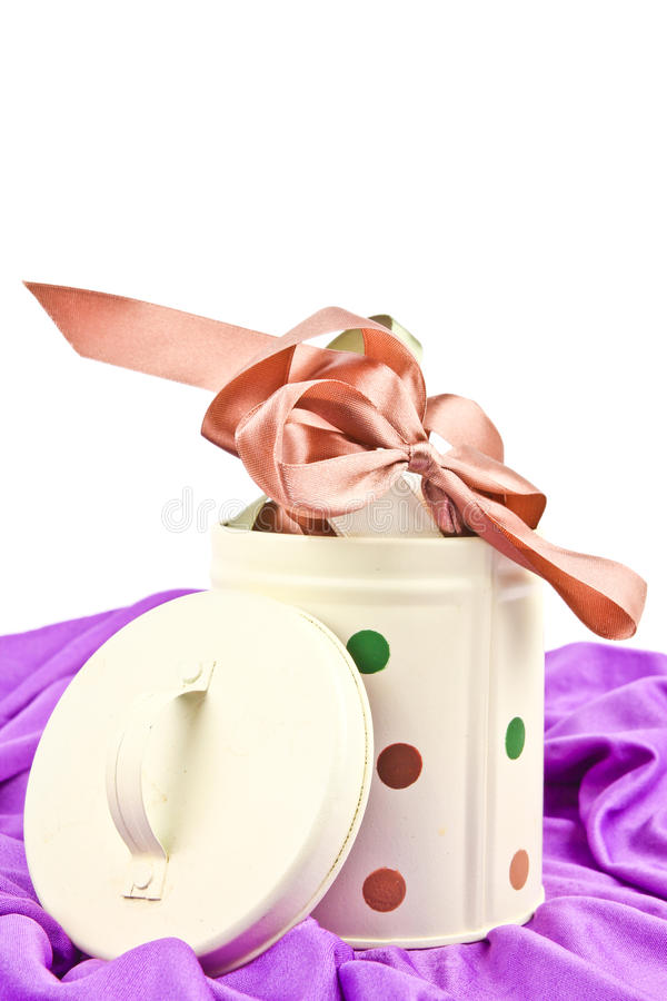 Ribbons For Gift Wrapping Stock Image