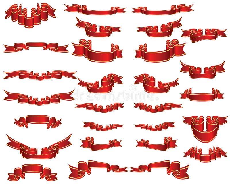 Download Ribbons Set Royalty Free Stock Photo - Image: 7414245