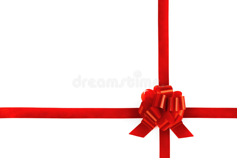 Download Ribbons tied a red bow stock photo. Image of image, horizontal - 22051396