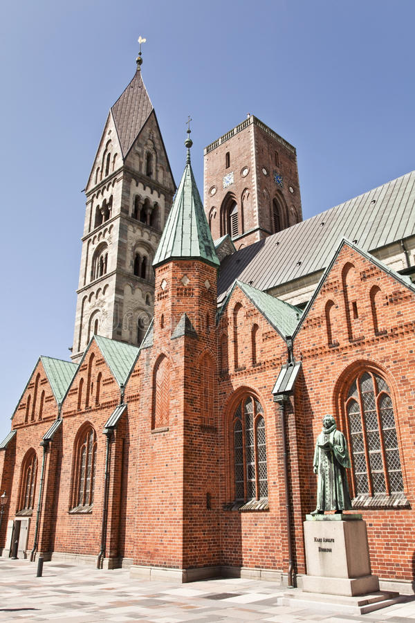 Ribe Cathedral. stock photography