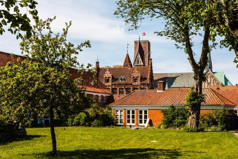 Ribe, Danimarca fotografia stock libera da diritti
