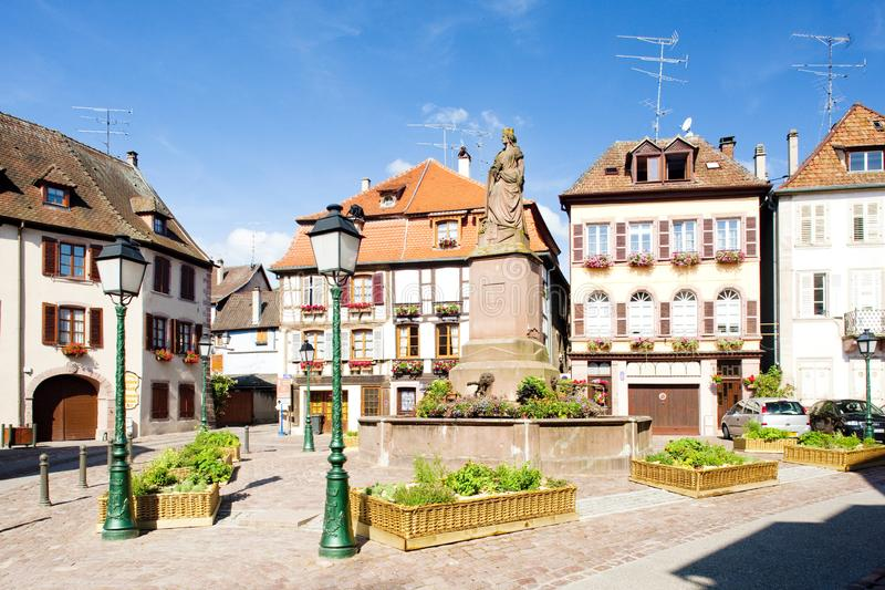 Ribeauville, Alsace, France photo stock
