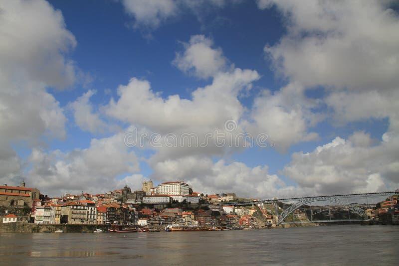Ribeira,波尔图,葡萄牙 库存图片