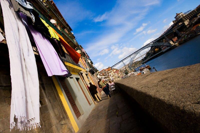Ribeira à Porto image stock