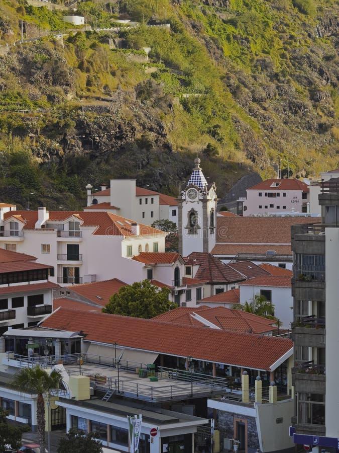 Ribeira Brava en Madeira fotografía de archivo