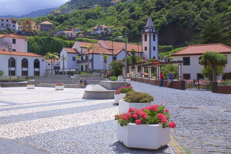 Ribeira Brava, Madeira, Portugal fotografía de archivo libre de regalías