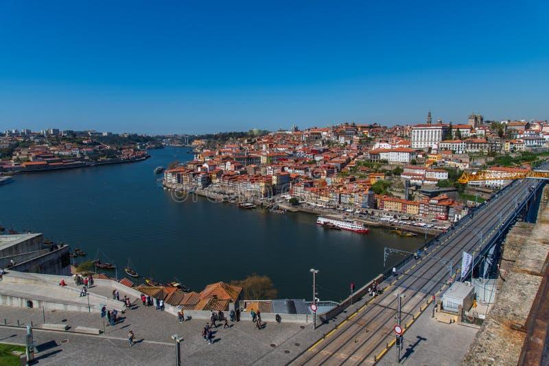Ribeira em Porto Portugal fotos de stock