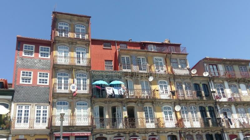 Ribeira, o Porto, Portugal foto de stock