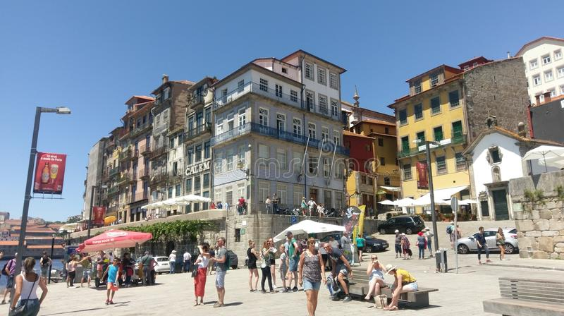 Download Ribeira, Porto, Portugal editorial photo. Image of ancient - 95969666