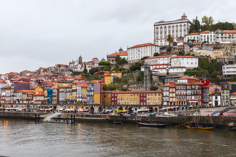 Ribeira View Of Oporto Editorial Photography