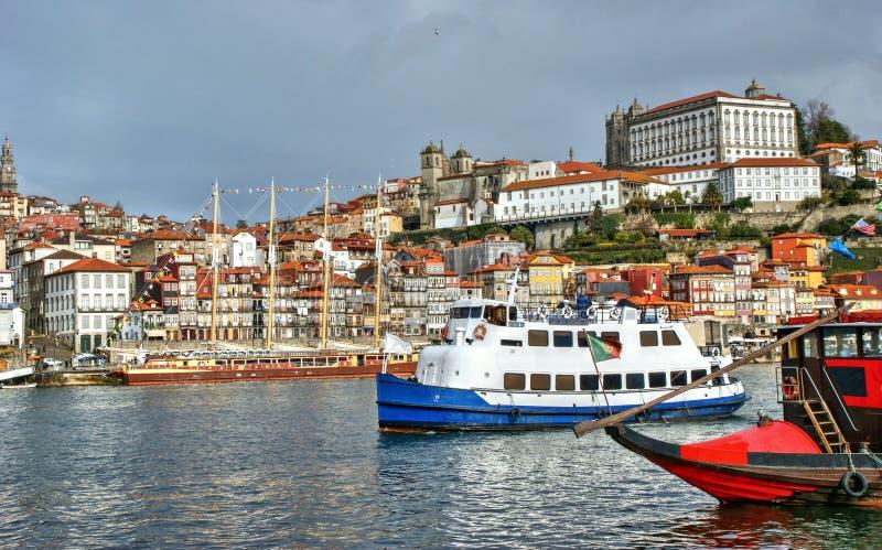 Ribeira view in Oporto royalty free stock photos