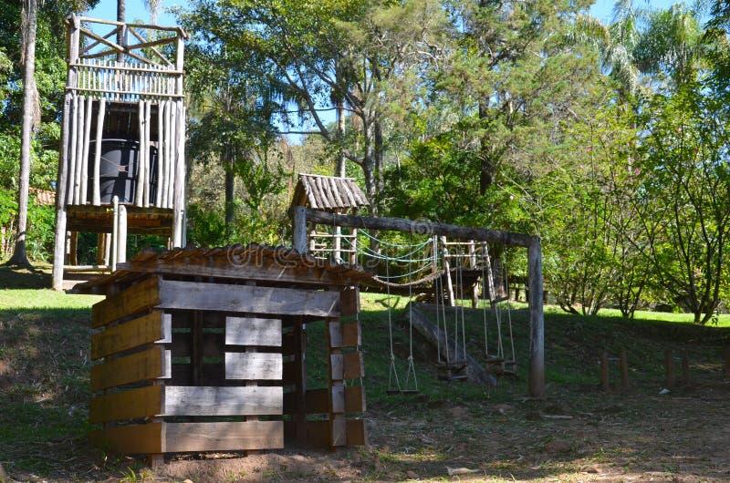 Ribeirao Preto, περιοχή Minas Gerais, Βραζιλία: μια θέση για το τοπικό hacienda χαλάρωσης στοκ φωτογραφία με δικαίωμα ελεύθερης χρήσης