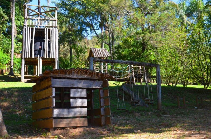 Ribeirao Preto, regione Minas Gerais, Brasile: un posto per la hacienda del locale di rilassamento fotografia stock libera da diritti