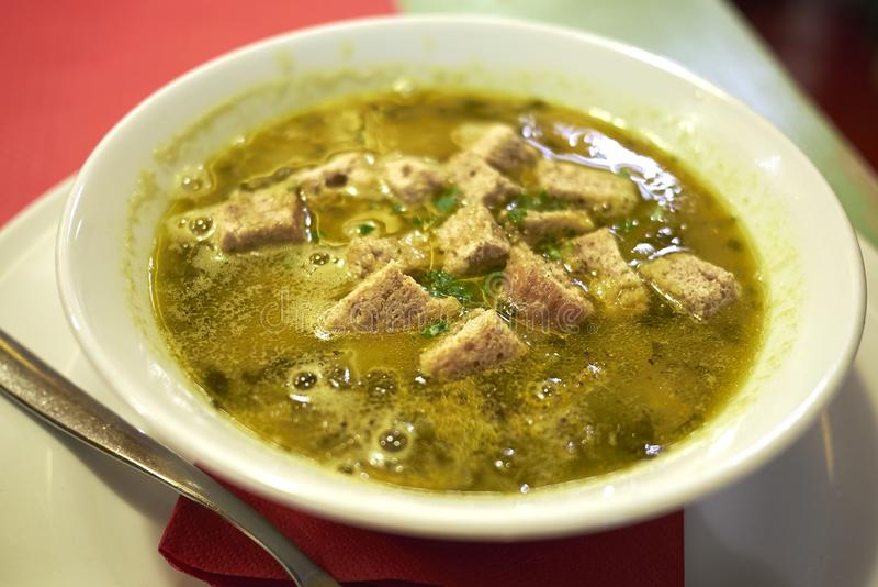 Ribollita, традиционный суп Тосканы стоковое фото rf