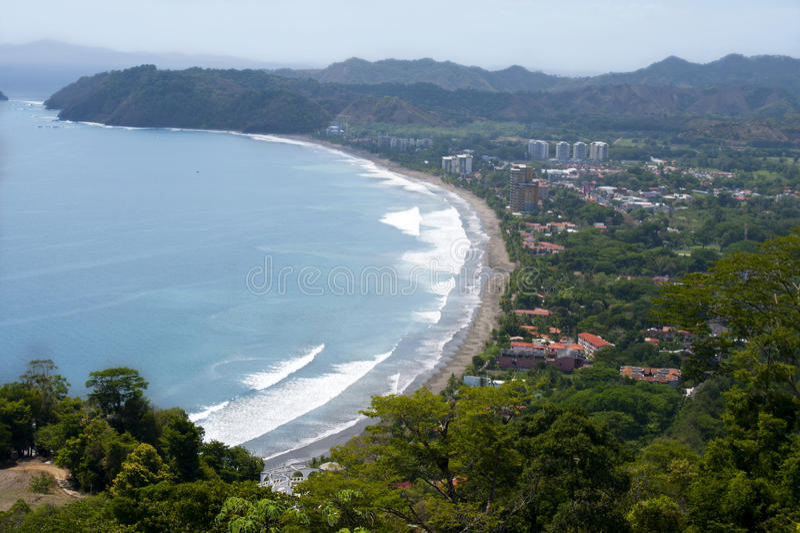 rica jaco πλευρών στοκ εικόνα με δικαίωμα ελεύθερης χρήσης