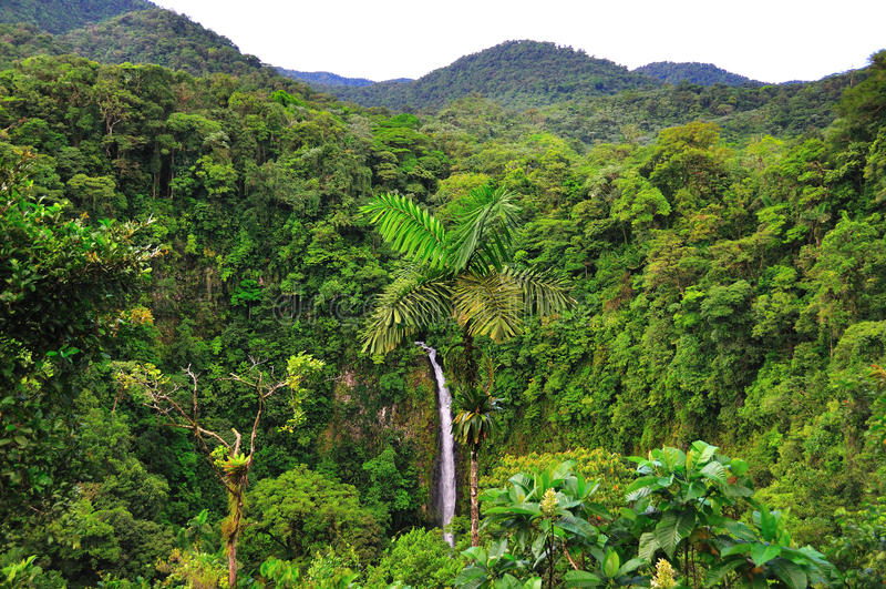 Rica-Landschaft lizenzfreies stockfoto