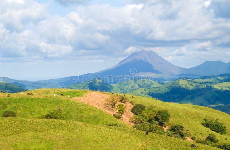Rica-Landschaft stockfoto