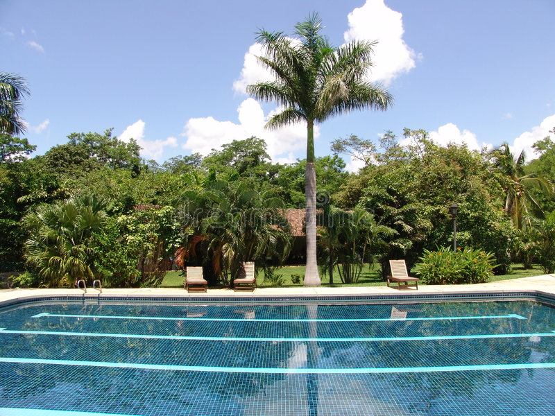 Rica-Pool stockfotografie